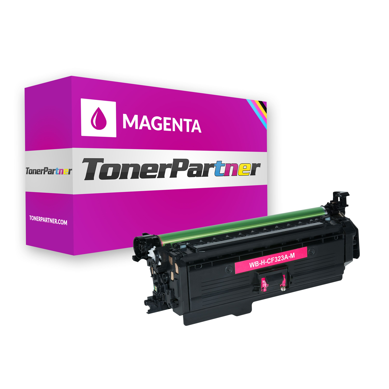 Kompatibel zu HP CF323A / 653A Tonerkartusche Magenta