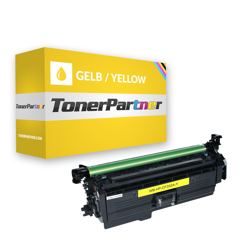 HP CF332A / 654A Tonerkartusche gelb Kompatibel