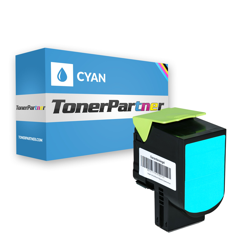 TonerPartenaire Lexmark 80C20C0 / 802C Toner cyan