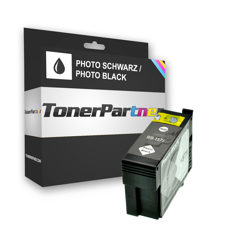 Epson C13T15714010 / T1571 Tintenpatrone schwarz Foto Kompatibel