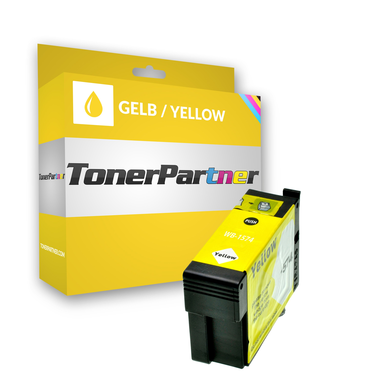 Epson C13T15744010 / T1574 Tintenpatrone gelb Kompatibel