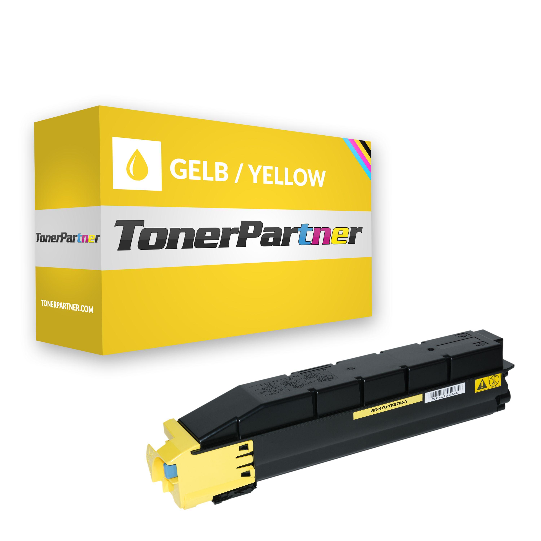 Kyocera 1T02K9ANL0 / TK-8705 Y Toner gelb Kompatibel