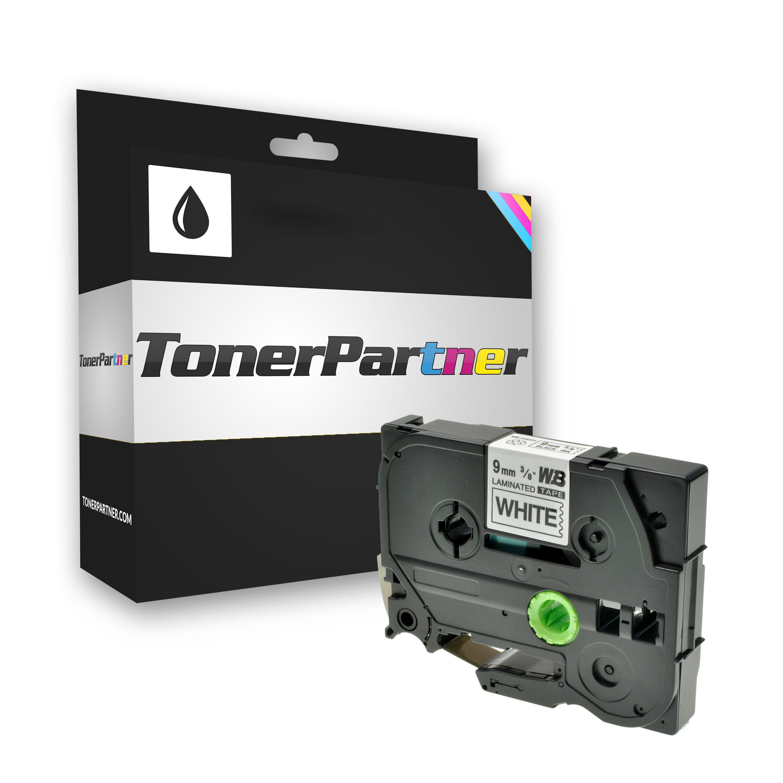 Brother TZE221 P-Touch Farbband schwarz auf weiss Laminat 9mm x 8m Kompatibel