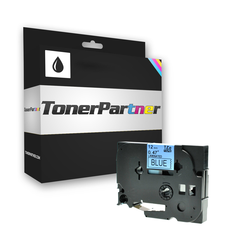 Brother TZE531 P-Touch Farbband schwarz auf blau Laminat 12mm x 8m Kompatibel