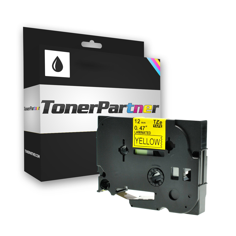 Brother TZE631 P-Touch Farbband schwarz auf gelb Laminat 12mm x 8m Kompatibel