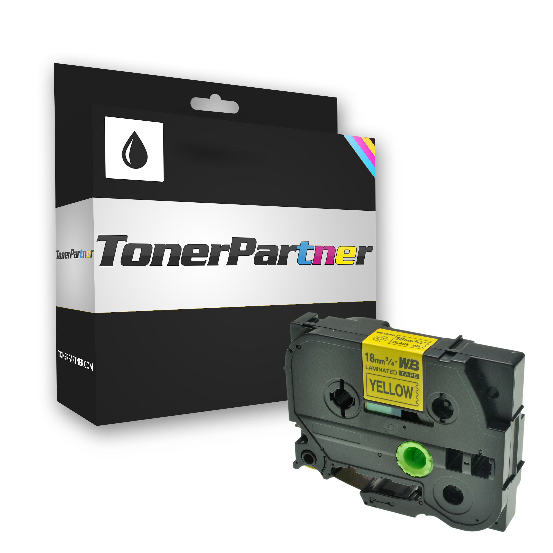 Brother TZE641 P-Touch Farbband schwarz auf gelb Laminat 18mm x 8m Kompatibel