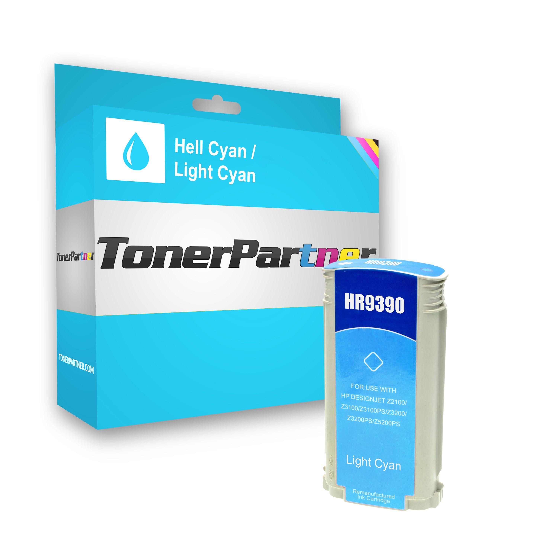 Kompatibel zu HP C9390A / 70 Tintenpatrone cyan hell