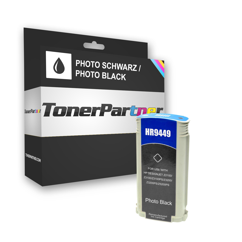 Kompatibel zu HP C9449A / 70 Tintenpatrone schwarz Foto