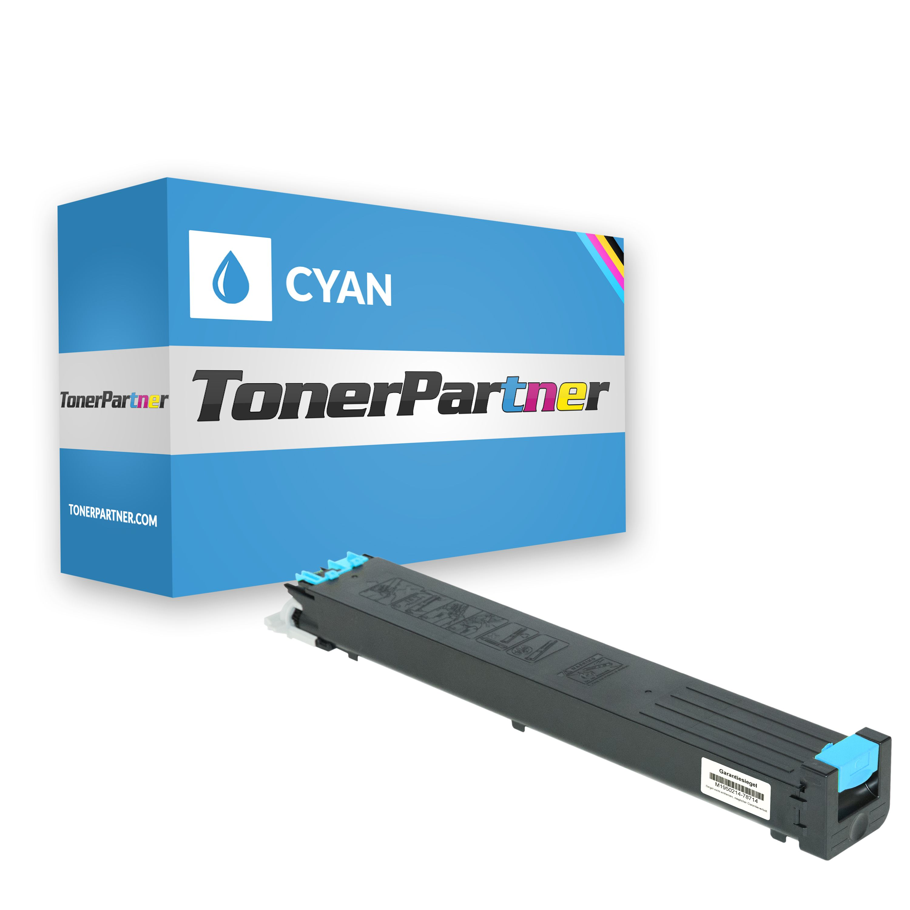 Sharp MX31GTCA Toner cyan Kompatibel