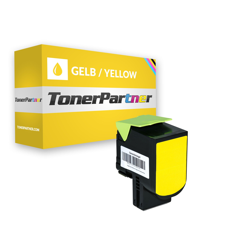 Lexmark 70C20Y0 / 702Y Toner gelb Kompatibel