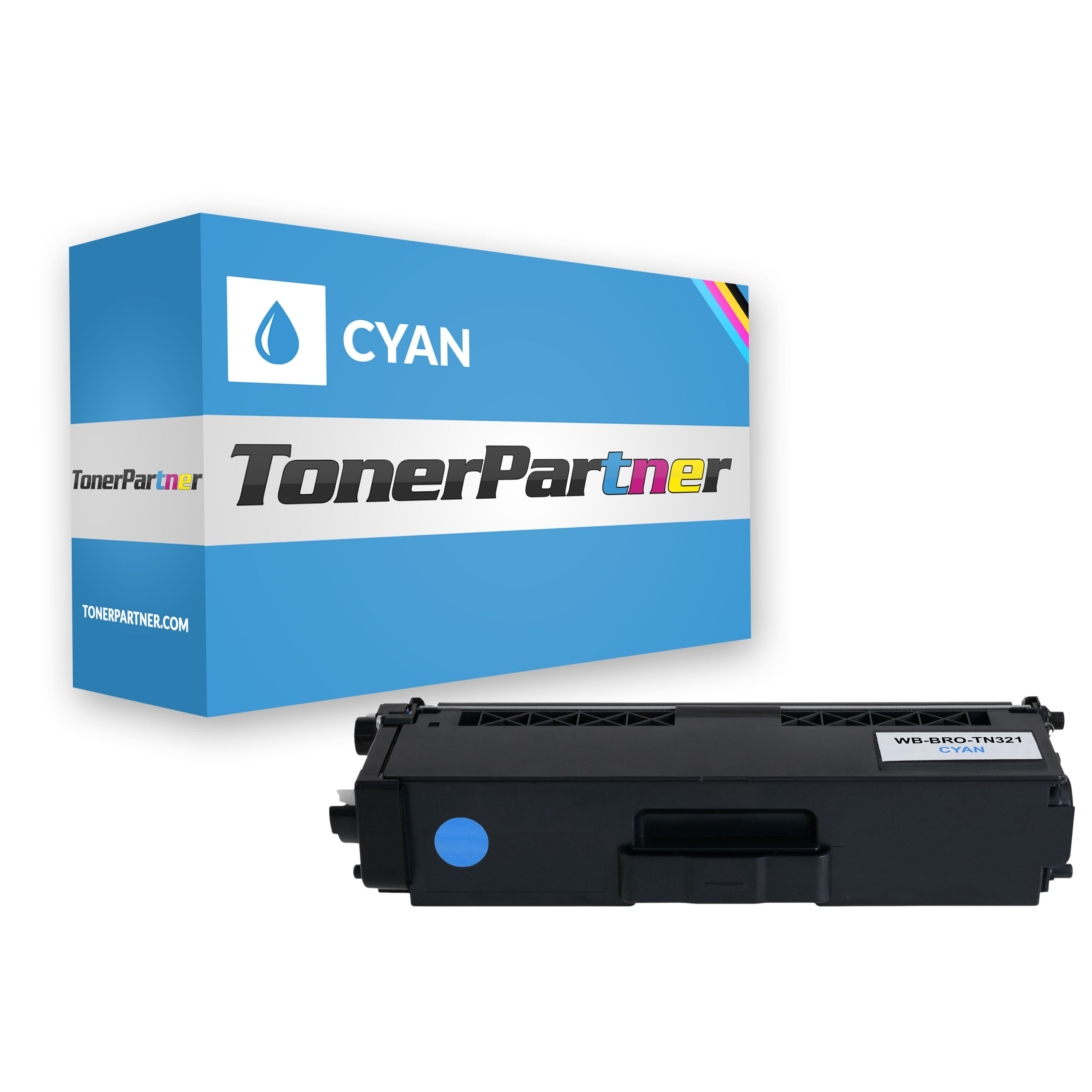 Brother TN-321C Toner cyan Kompatibel