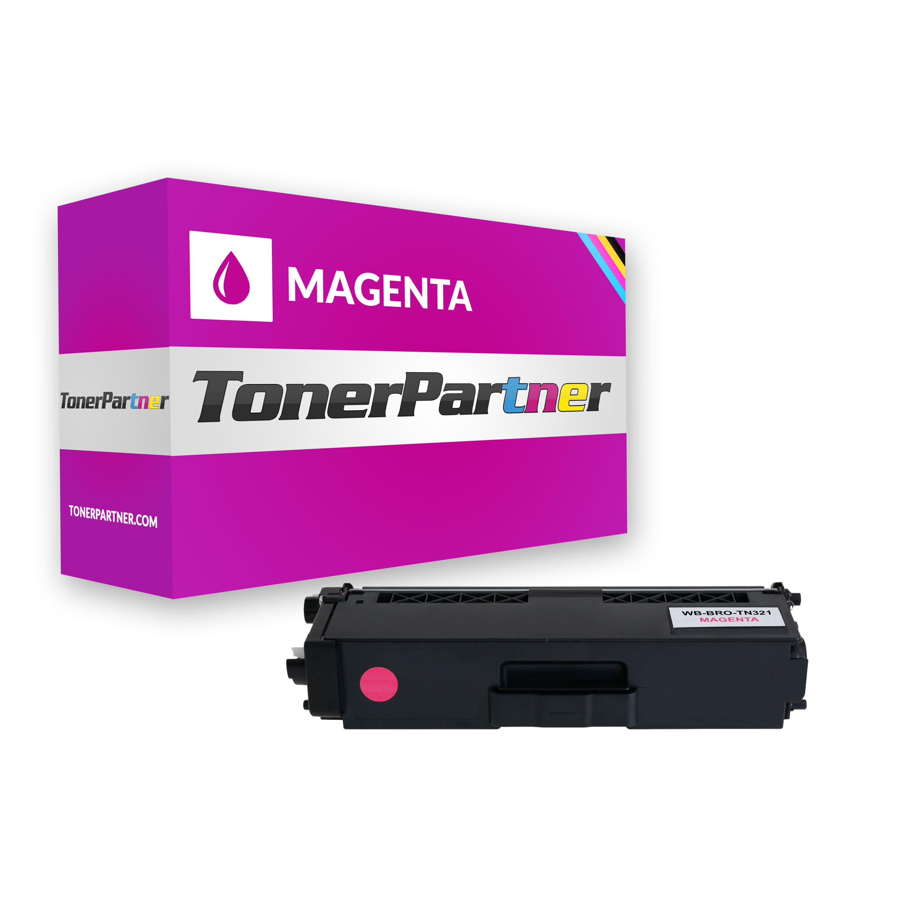 Brother TN-321M Toner magenta Kompatibel
