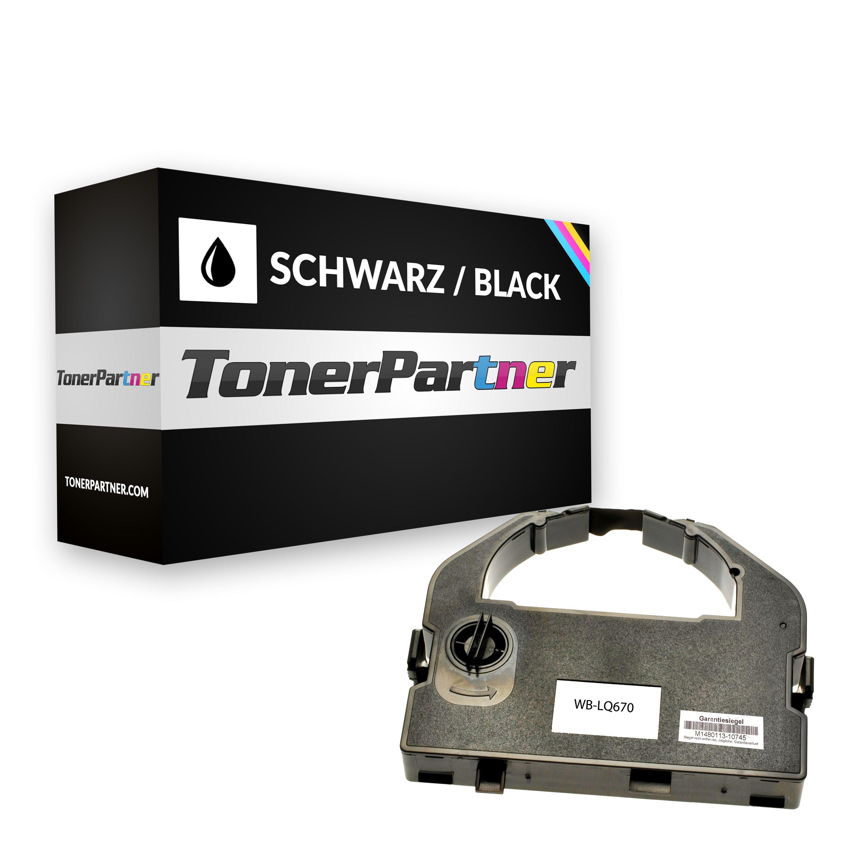 Epson C13S015262 / 7762 Nylonband schwarz 12,4 m Kompatibel