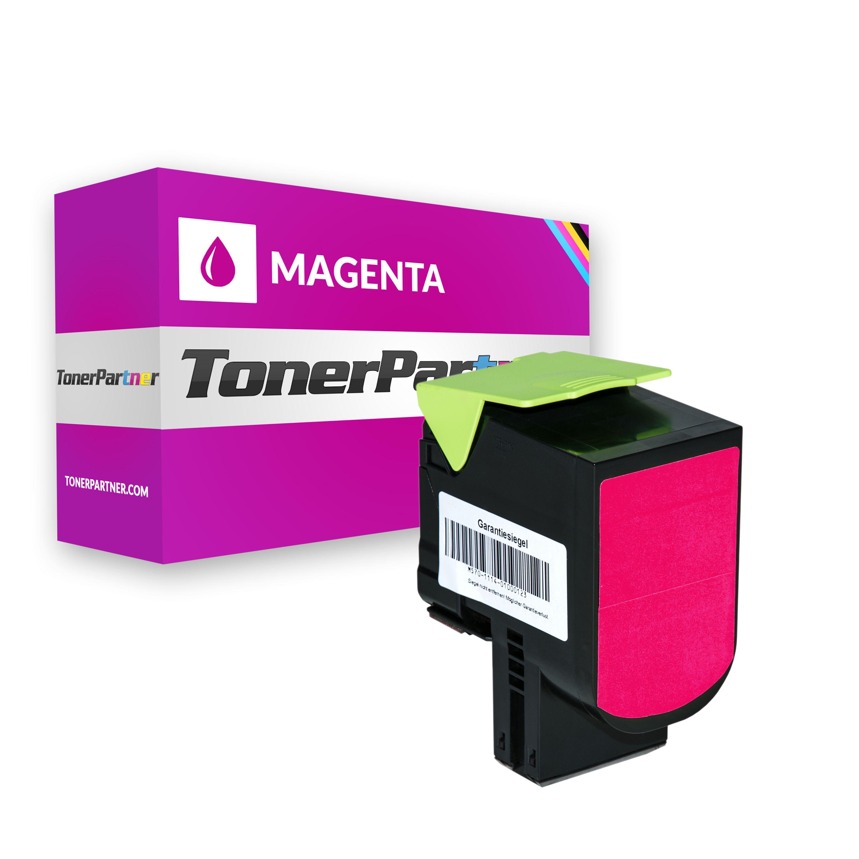 Lexmark 80C2SM0 / 802SM Toner magenta Kompatibel