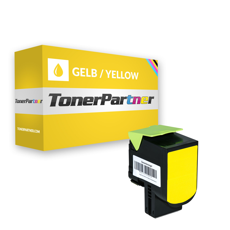 Lexmark 80C2SY0 / 802SY Toner gelb Kompatibel