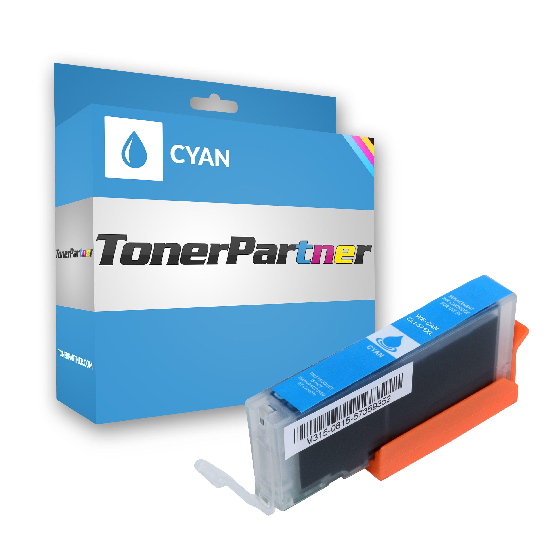 Canon 0332C001 / CLI-571 C XL Tintenpatrone cyan Kompatibel