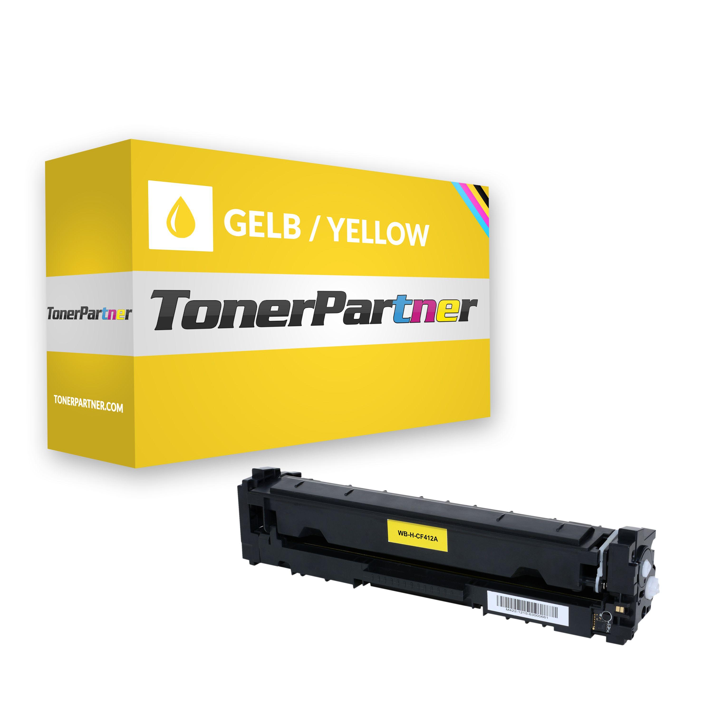 HP CF412A / 410A Toner gelb Kompatibel