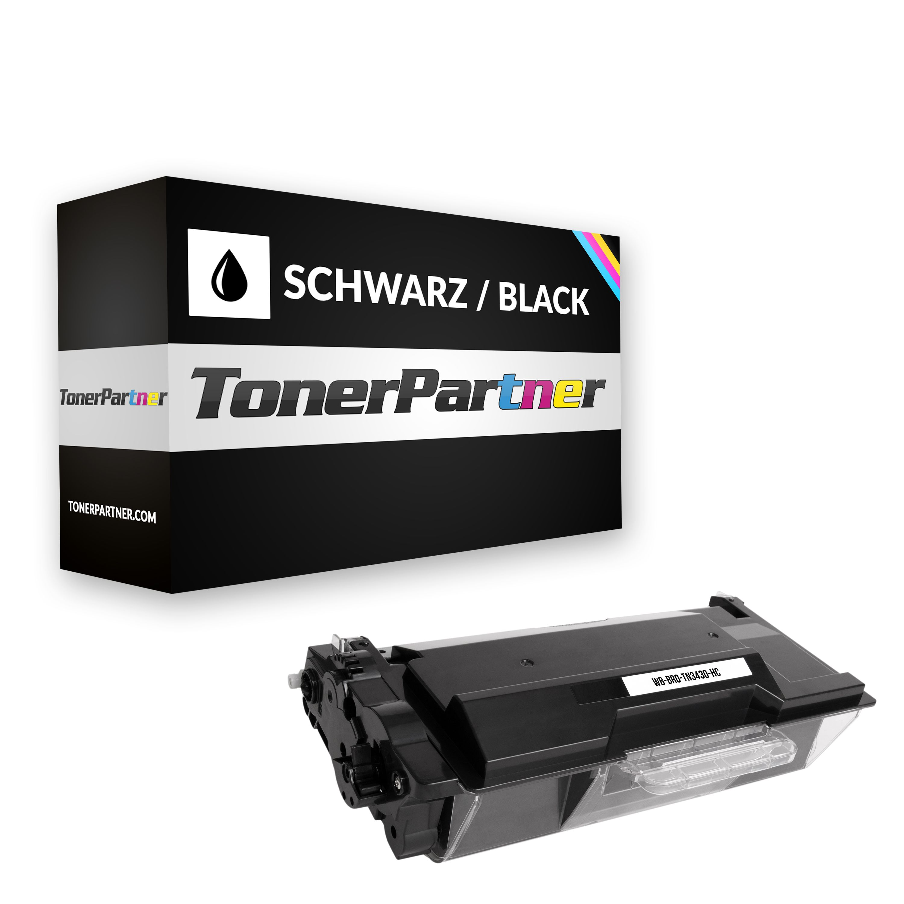 Brother TN-3430 Toner schwarz Kompatibel