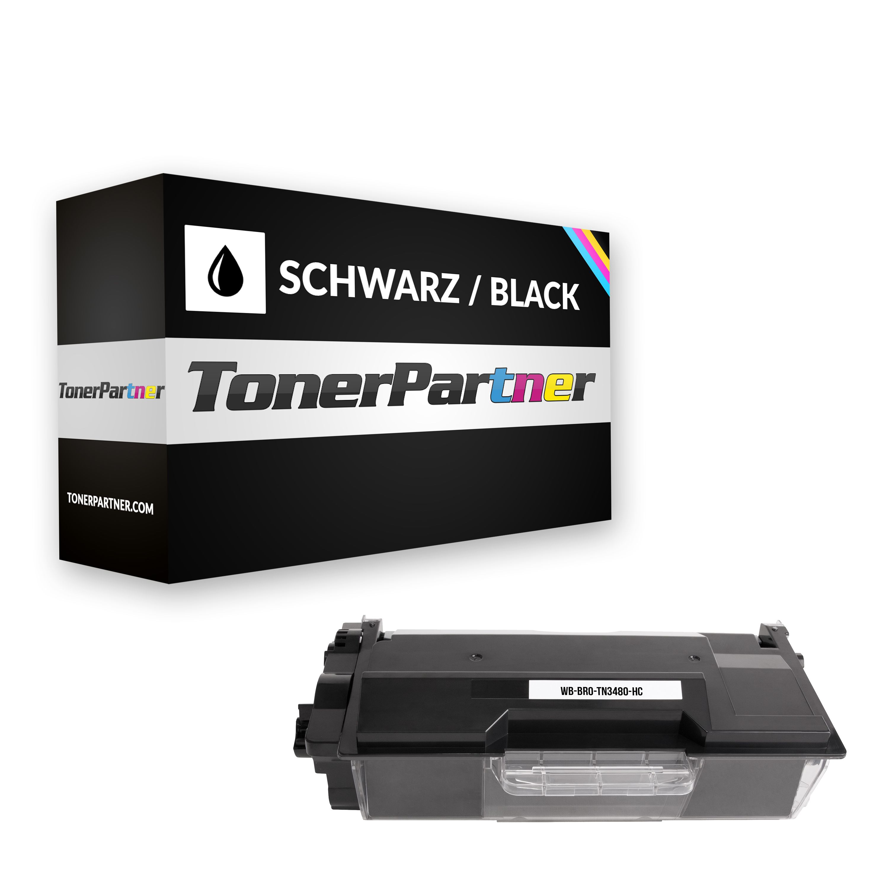 Brother TN-3480 Toner schwarz Kompatibel