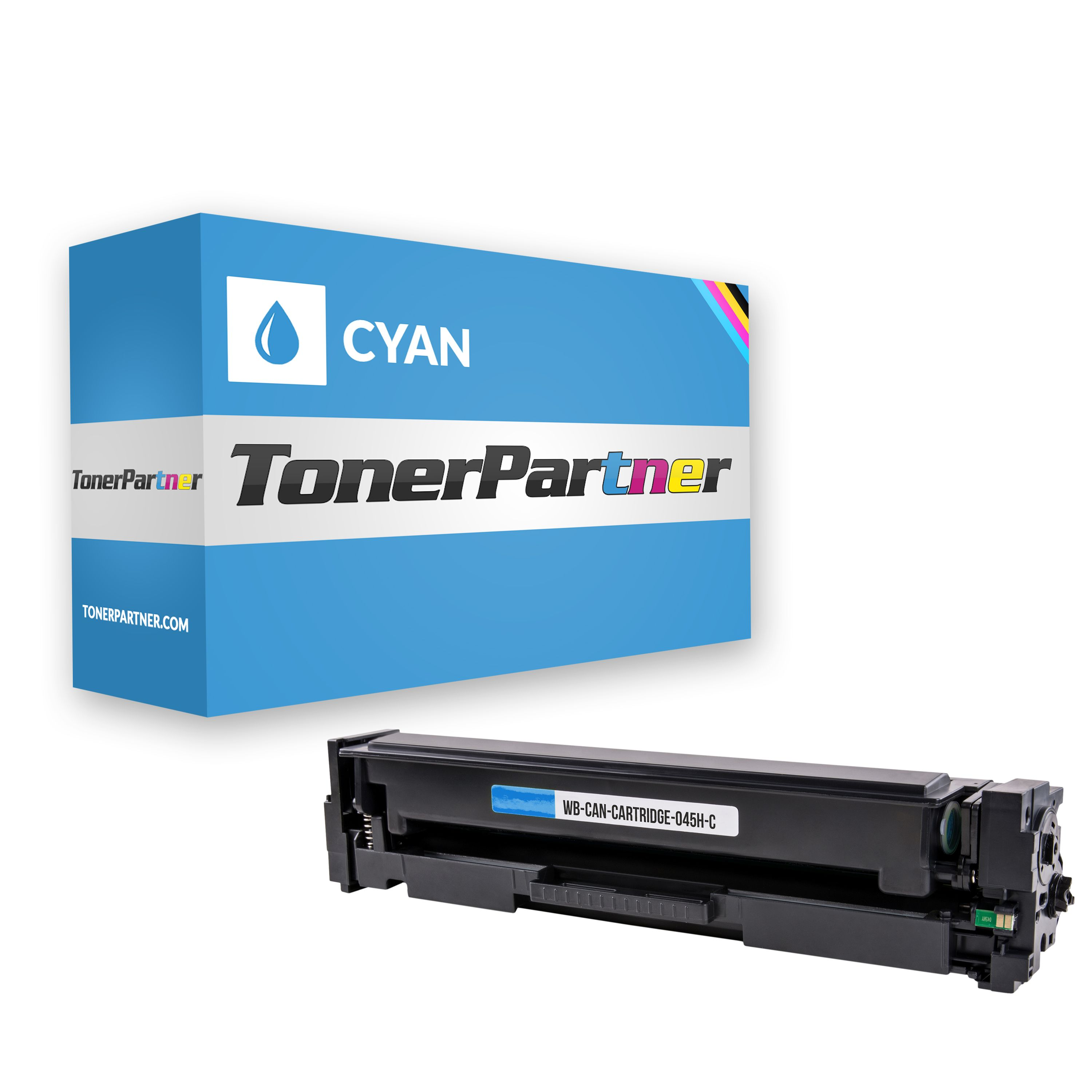 Compatible to Canon 1245 C 002 / 045H Toner cyan
