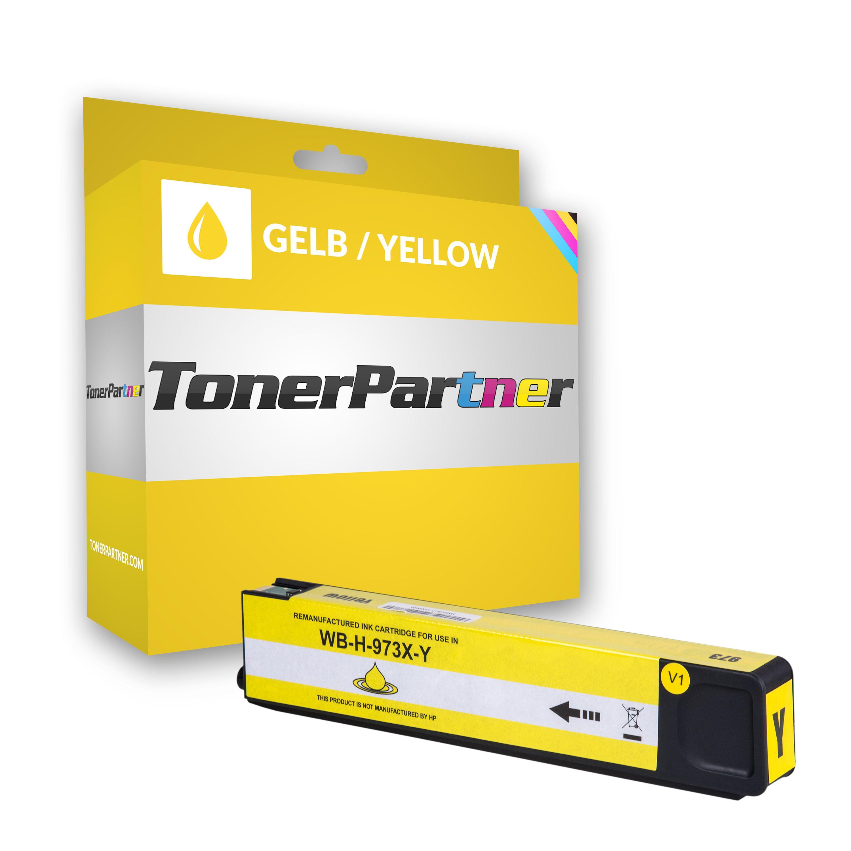HP F6T83AE / 973X Tintenpatrone gelb Kompatibel