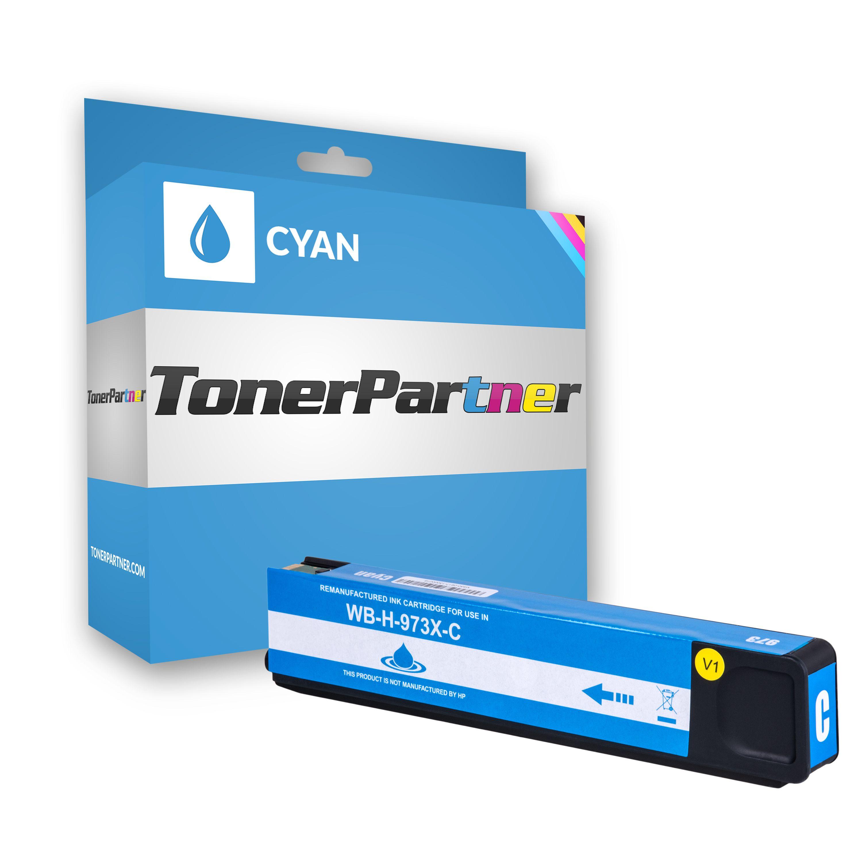 HP F6T81AE / 973X Tintenpatrone cyan Kompatibel