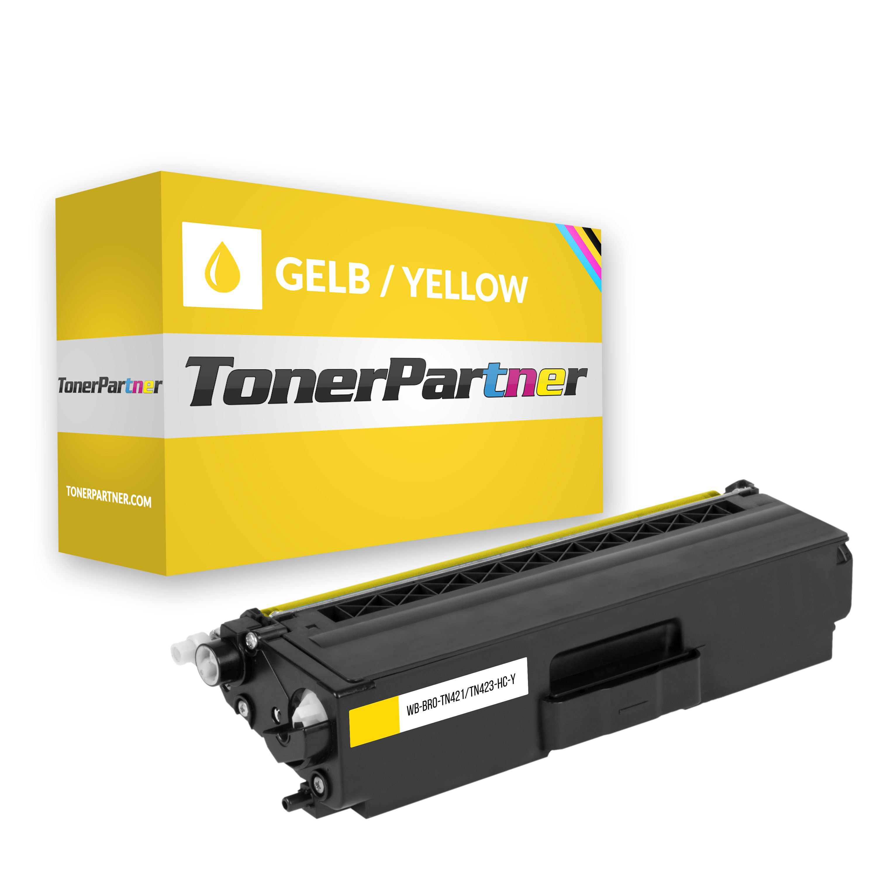 Kompatibel zu Brother TN-421Y Toner Gelb