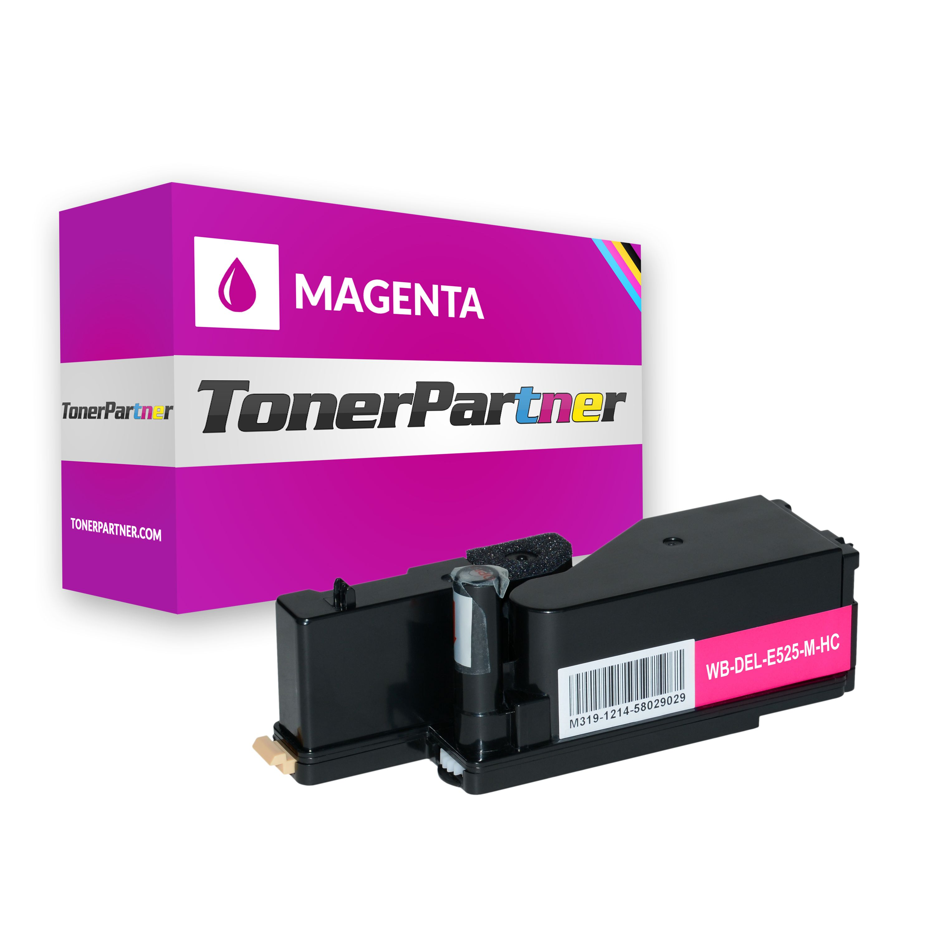 Compatible to Dell 593-BBLZ / WN8M9 Toner Cartridge magenta