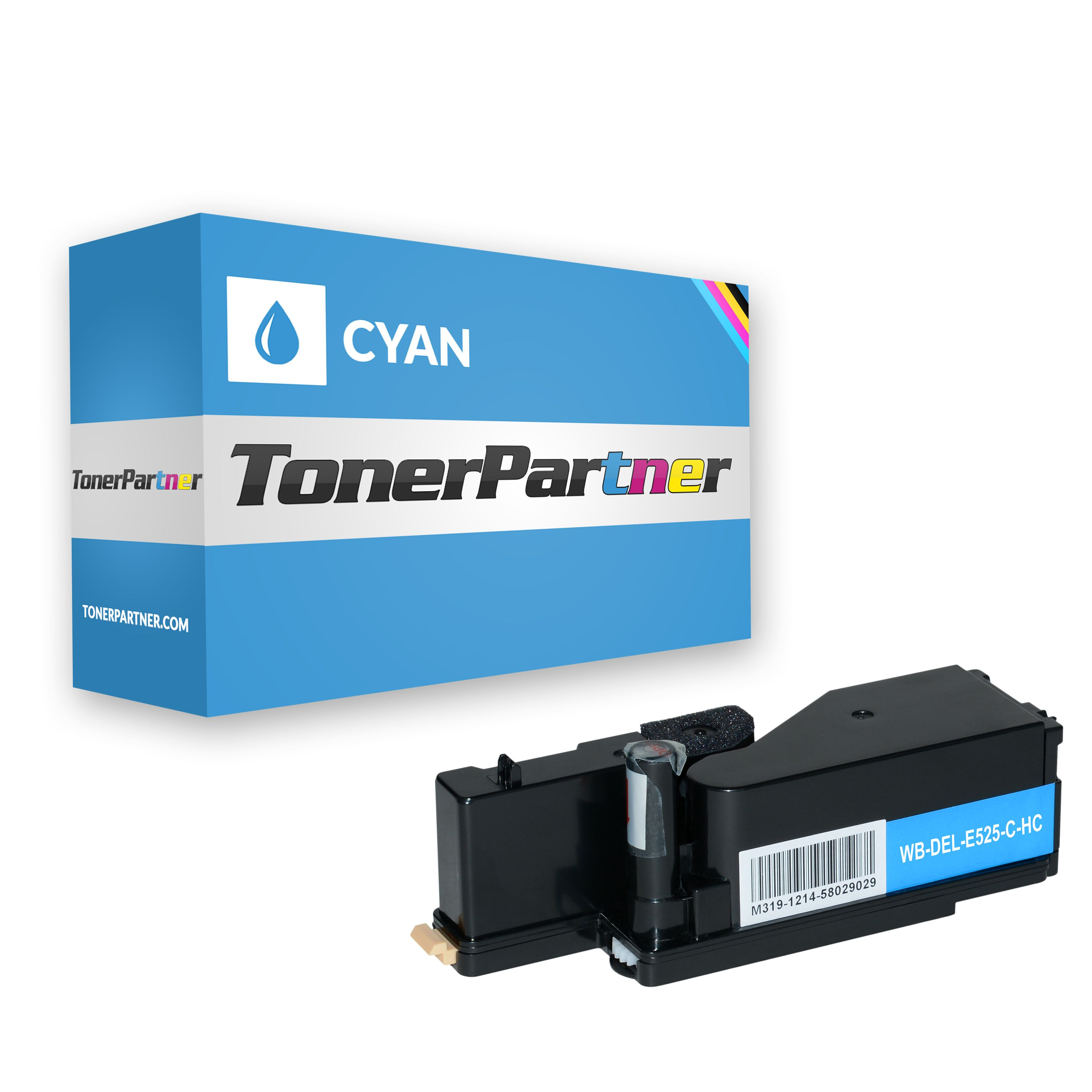 Compatible to Dell 593-BBLL / VR3NV Toner Cartridge cyan