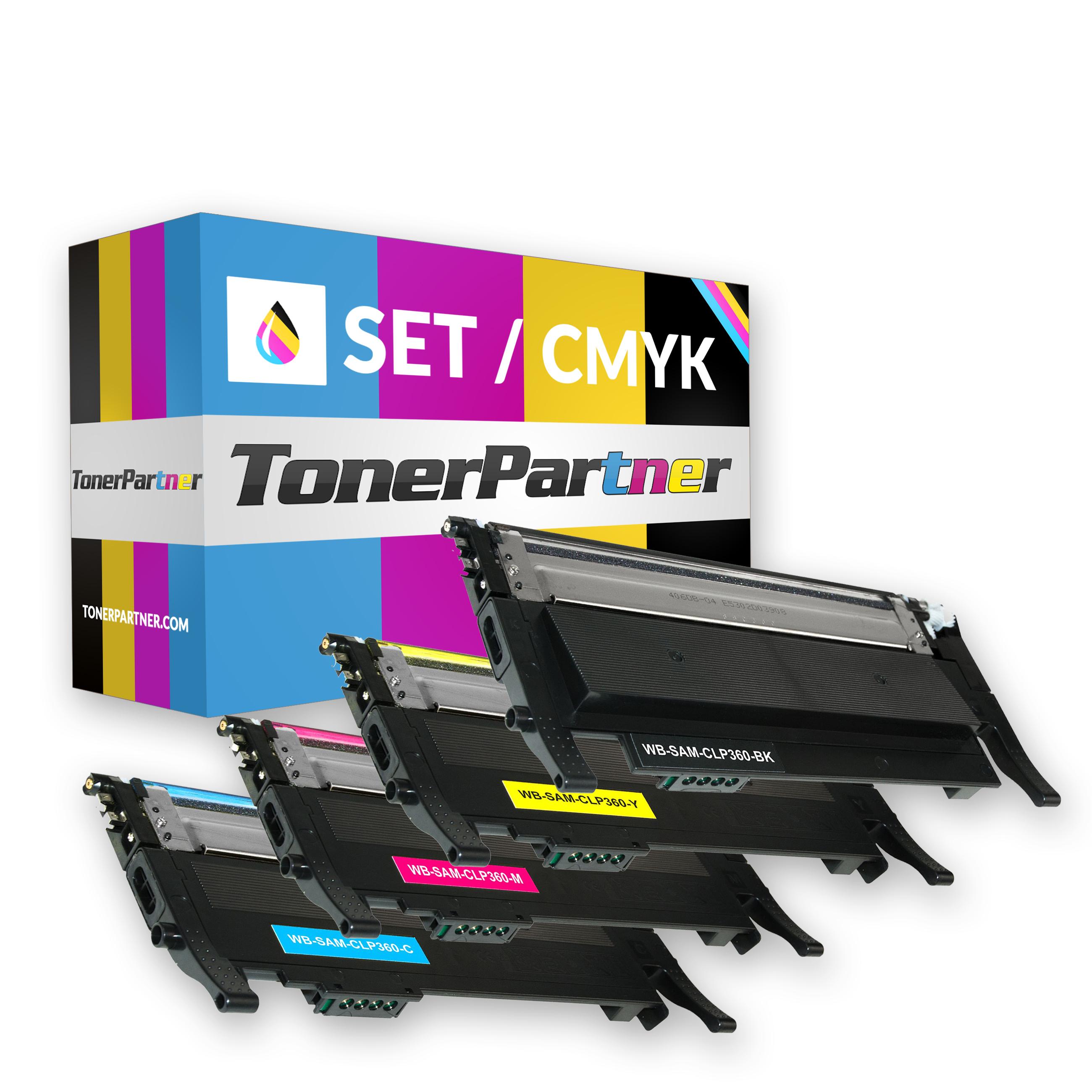 Samsung CLT-P406C ELS / C406 Toner MultiPack Kompatibel