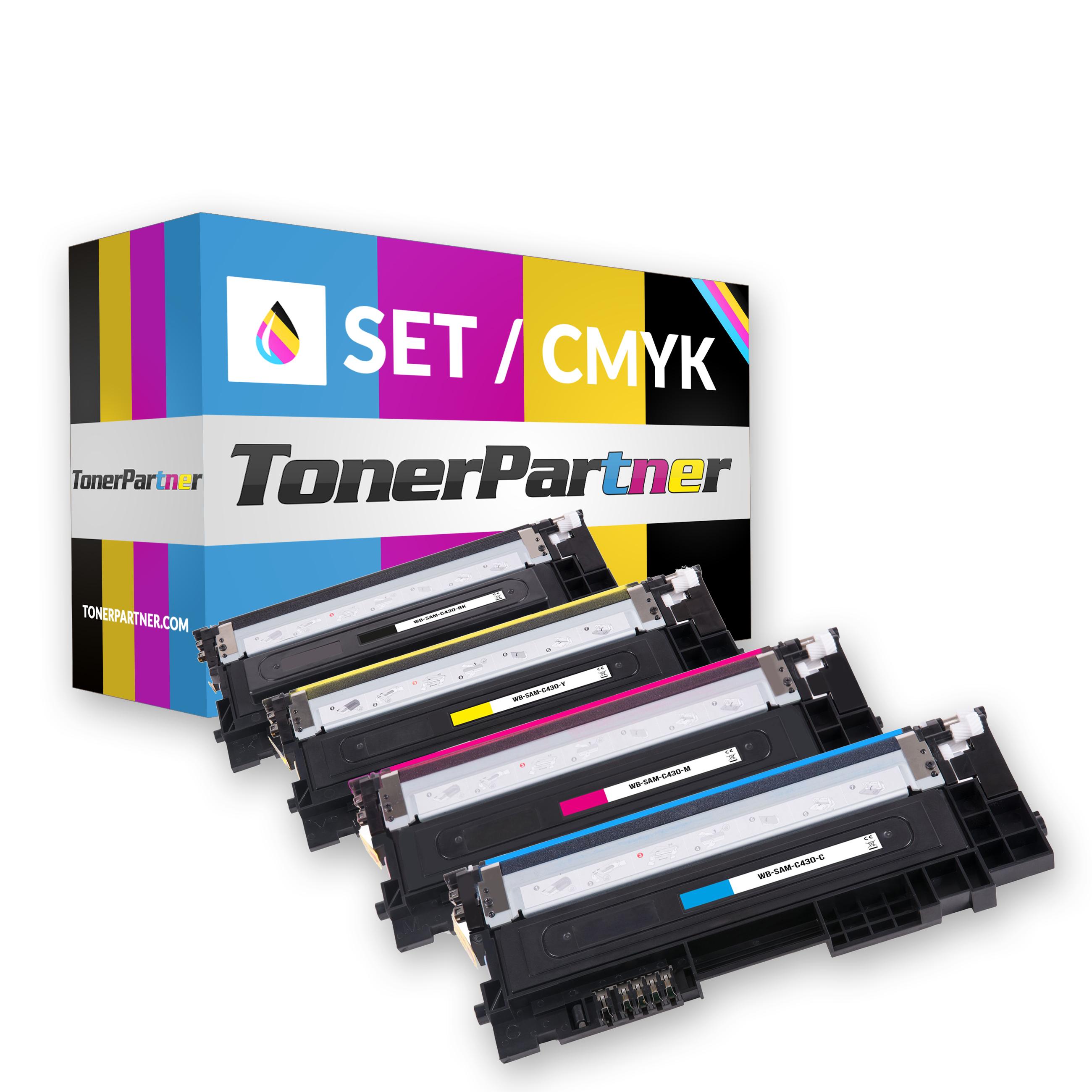 Samsung CLT-P404C ELS / P404C Toner MultiPack Kompatibel