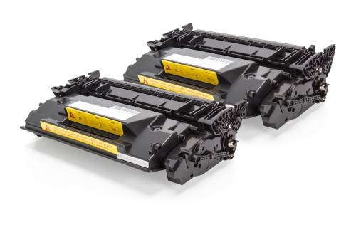 Kompatibel zu HP CF226X / 26X Toner Schwarz (2x 9.000 Seiten) DoppelPack