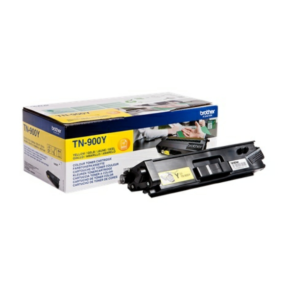 Original Brother TN900YP Toner gelb