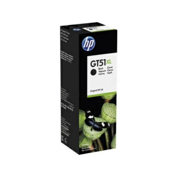 Original HP X4E40AE / GT51XL Tintenpatrone schwarz