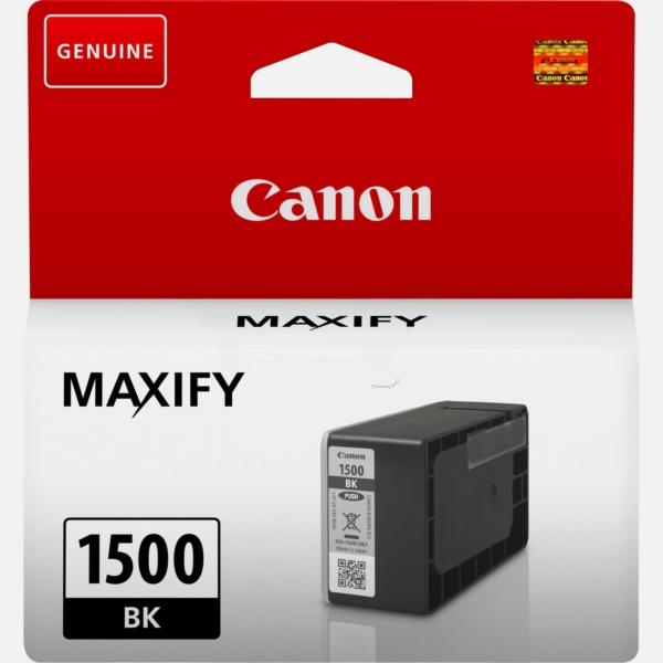 Original Canon 9218B001 / PGI1500BK Tintenpatrone schwarz