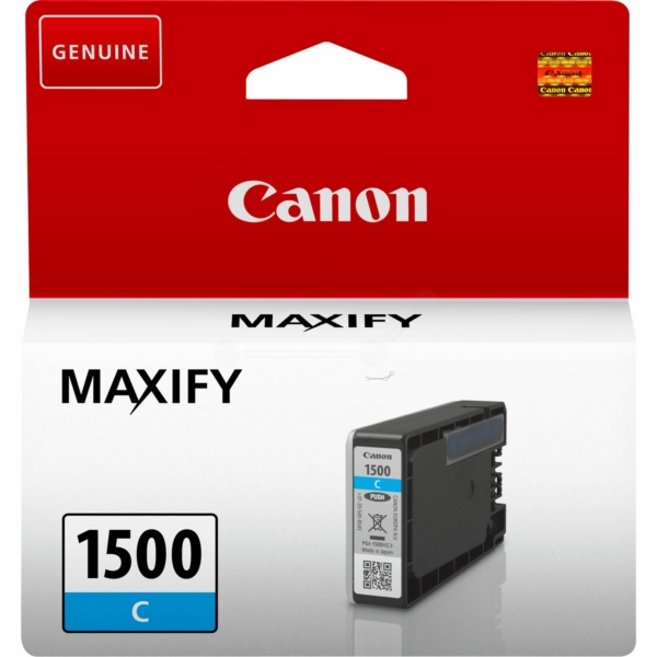 Original Canon 9229B001 / PGI1500C Tintenpatrone cyan