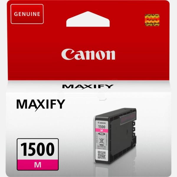 Original Canon 9230B001 / PGI1500M Tintenpatrone magenta