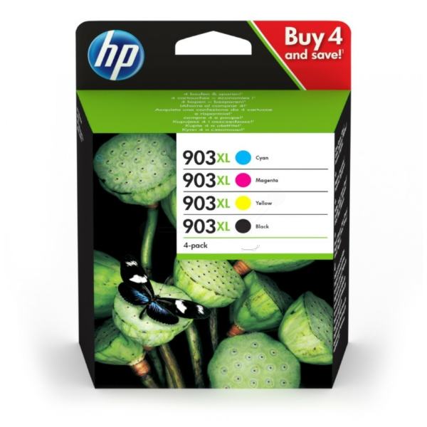 Original HP 3HZ51AE#301 / 903XL Tintenpatrone MultiPack