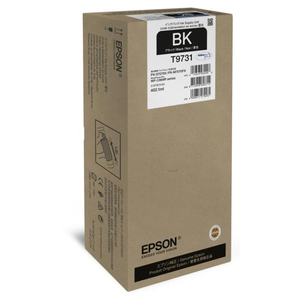 Original Epson C13T973100 / T9731 Tintenpatrone schwarz