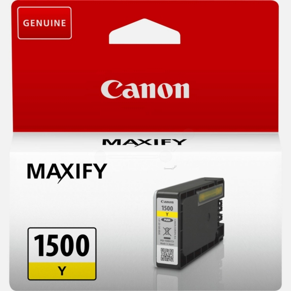 Original Canon 9231B001 / PGI1500Y Tintenpatrone gelb
