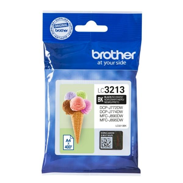 Original Brother LC3213BK Tintenpatrone schwarz
