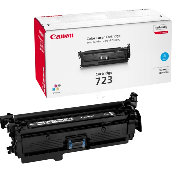 Original Canon 2643B011 / 723C Toner cyan
