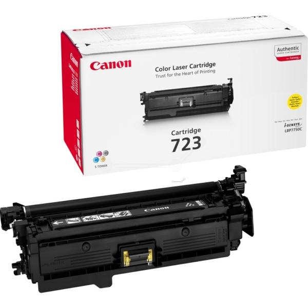 Original Canon 2641B011 / 723Y Toner gelb