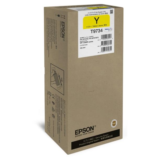 Original Epson C13T973400 / T9734 Tintenpatrone gelb