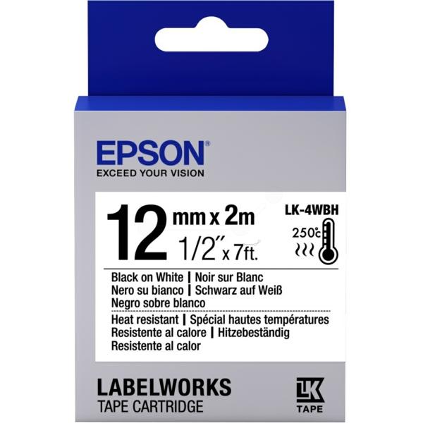 Original Epson C53S654025 / LK4WBH Farbband