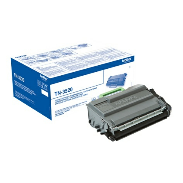 Original Brother TN3520P Toner schwarz