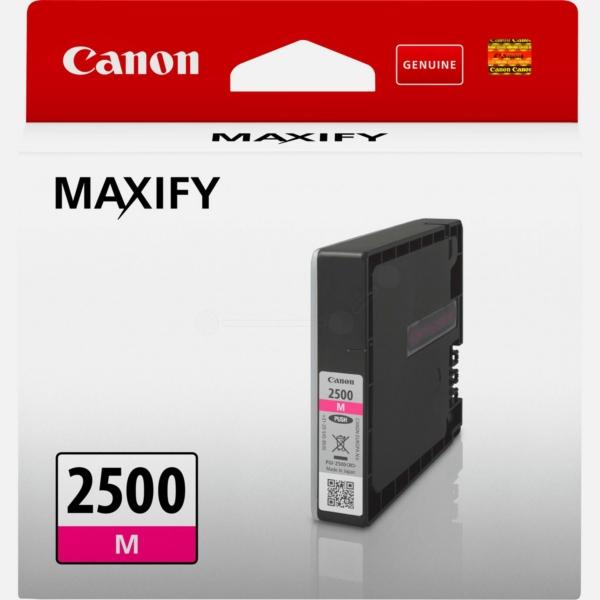 Original Canon 9302B001 / PGI2500M Tintenpatrone magenta