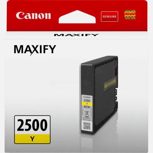 Original Canon 9303B001 / PGI2500Y Tintenpatrone gelb