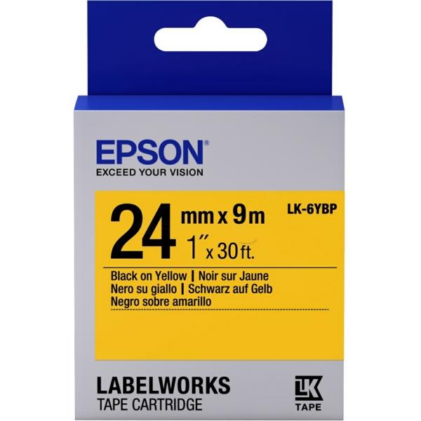 Original Epson C53S656005 / LK6YBP DirectLabel-etikettes