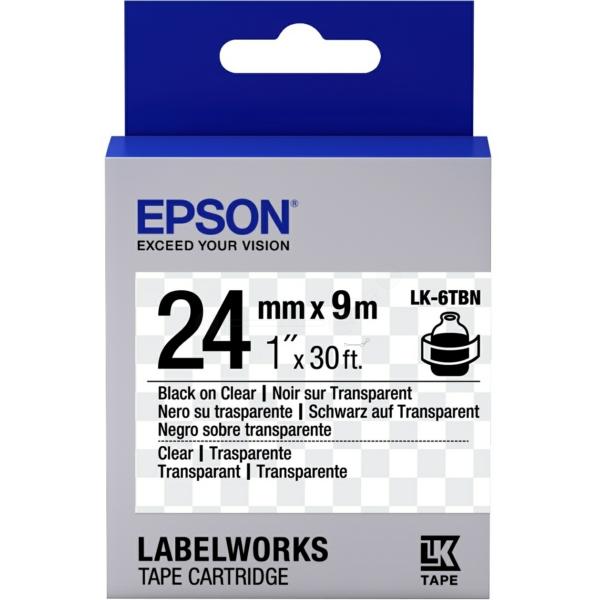 Original Epson C53S656007 / LK6TBN DirectLabel-etikettes